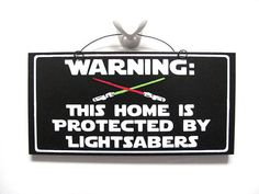 LightSaber sign. Star Wars inspired by DiamondDustDesigns on Etsy