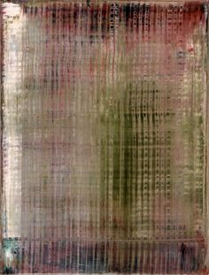 Gerhard Richter, Abstraktes Bild (Abstract Painting), 1995. Oil on canvas. 82cm H x 62cm W. [829-13]
