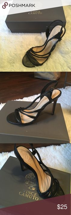 Vince Camuto Sandal Heels VINCE CAMUTO SANDAL HEELS IN BLACK . Vince Camuto Shoes Heels