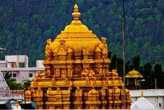 Venkateswara Temple is a landmark Vaishnavite temple situated in the hill town of Tirumala at Tirupati in Chittoor district of Andhra Pradesh, India. Tirumala Venkateswara Temple, Krishna Temple, Indian Temple, Hindu Temple, Lord Krishna, Delhi Tourism, South India Tour, Vaishno Devi, Lord Balaji