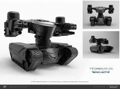 ArtStation - Skynet's battle units, Ruslan Yarmilko