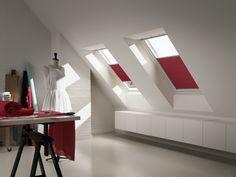 Энергосберегающая штора для мансарды