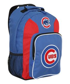 This Chicago Cubs Southpaw Backpack is perfect! #zulilyfinds