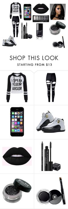 """I Speak Fluent Sarcasm"" by breezybrebre on Polyvore featuring beauty, WithChic, TAXI, Rodial and Chanel"