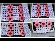 Crochet Necklace, Blanket, Youtube, Fabric Scrap Crafts, Bottle Crafts, Tela, Flower Fabric, Bedspreads, Dressmaking