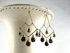 Custom Order for Joanna: Luxury Gemstone Earrings Handmade