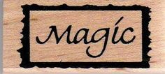 Framed Magic Wood Mounted Rubber Stamp PS OE 23 | eBay