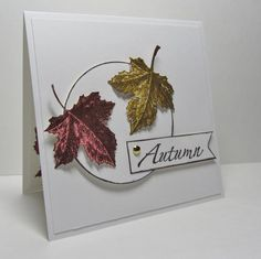 Best of Autumn Challenges by nancy littrell - Cards and Paper Crafts at Splitcoaststampers