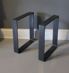 metal standard u shape table legs