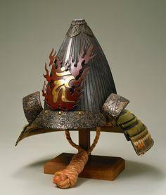 鉄錆地六十二間突盔形筋兜 Sixty-two Plate Riveted Acorn-Shaped Suji Kabuto Helmet