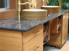 TorZo Orient Asian Inspired Vanity with Bamboo Cabinet, Denver, Jan Neiges, CKD