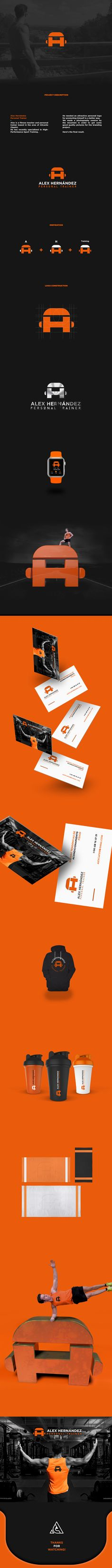 Alex Hernández - Personal Trainer // Branding on Behance