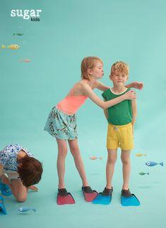 Arnau, Chloe & Arnau from Sugar Kids for Hooligans Magazine by Eva Bozzo.