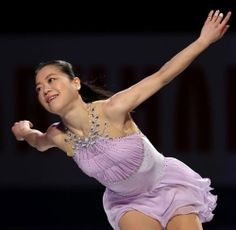 Akiko Suzuki / figure skater. The ISU World Figure Skating Championships 2014 Exhibition in Saitama Japan. As for her, this was the last performance as the player.