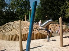 Riehen, Wettsteinanlage, öffentlicher Spielplatz 2012 playscape