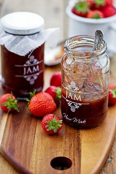 jam home made etykieta