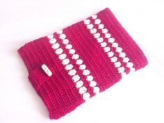 iPad Case Galaxy Case Floral Crochet iPad Case by modelknitting, $25.00