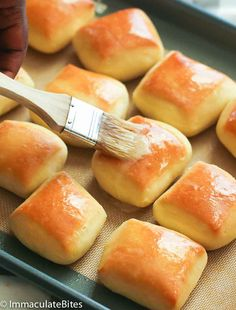 Texas Roadhouse Rolls - sweet, fluffy and buttery copycat Texas Rolls generously slathered with homemade melted honey cinnamon butter. All you need is just one bite and you'll be in bread heaven! Homemade Dinner Rolls, Dinner Rolls Recipe, All You Need Is, Texas Roadhouse Rolls, Logans Roadhouse Rolls Recipe, Texas Roadhouse Butter, Best Banana Bread, Recipe Filing, Bread Rolls