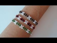 3 bracelet in different colors . You can make your own handmade bracelet just following these steps in this video you don't need any skills just a little pat...