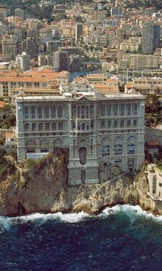 Beautiful southern France -- Grimaldi Palace in Monte Carlo, Monaco. Traveling by train through this area is breathtaking. : Beautiful southern France -- Grimaldi Palace in Monte Carlo, Monaco. Traveling by train through this area is breathtaking. Places Around The World, Oh The Places You'll Go, Places To Travel, Travel Destinations, Places To Visit, Around The Worlds, Travel Europe, Holiday Destinations, Italy Travel