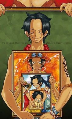 ONE PIECE - Luffy, Ace, and Sabo