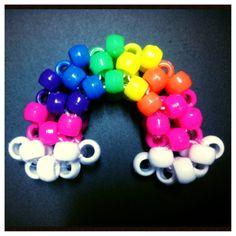 3d Kandi rainbow by BBEEAARR on DeviantArt