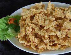 Cemilan Jamur Crispy nyam nyam - Resep Makanan Terlengkap
