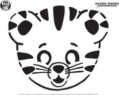 Daniel Tiger Pumpkin Carving Template