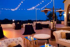 Beautiful outdoor terrace for cocktails  #reception #outdoors #luxury
