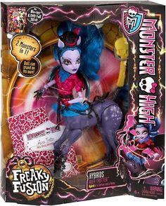 Monster High Freaky Fusion Avea Trotter Hybrid Doll NEW IN BOX
