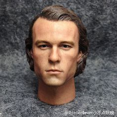 "Hot eleven 1/6 scale head #sculpt #joker heath ledger fit 12"" #figure toys,  View more on the LINK: 	http://www.zeppy.io/product/gb/2/301952123421/"
