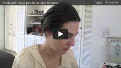 TV Beauté: meus pincéis de olho favoritos