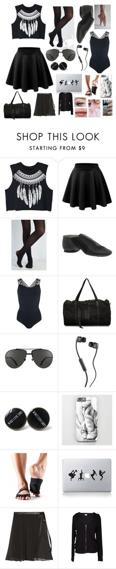 """Teaching 4 (C)"" by isabellas1017 ❤ liked on Polyvore featuring WithChic, Tiffany & Co., Pepper & Mayne, Nicopanda, Linda Farrow, Skullcandy, ToeSox, Vinyl Revolution, Ballet Beautiful and Velvet by Graham & Spencer"