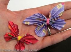Butterflies:  Good project to do with Grandkids.