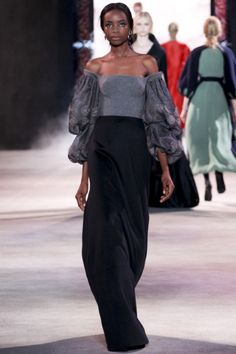 Sfilata Ulyana Sergeenko Paris - Alta Moda Autunno-Inverno 2013-14 - Vogue