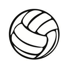 free printable volleyball clip art shape collage shapes rh pinterest com free volleyball clip art designs free volleyball clipart images