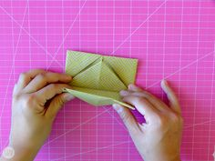 How to Fold a Letter into a Pull Tab Note   I Try DIY Origami Letter Fold, Letter Folding, I Tried, Notes, Letters, Learning, Creative, Diy, Report Cards