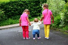 SCHOOL WALK Little People, Happy Day, School, Crafts, Manualidades, Short People, Handmade Crafts, Craft, Arts And Crafts