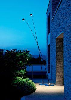 Lamp Sampei 440 Outdoor by DAVIDE GROPPI  700 mA DC - 10 W LED - 3000K - 720 lm  BLACK CABLE 5m - BASE WHITE / BLACK - ADJUSTABLE - NON DIMMABLE  LED DRIVER INCLUDED INPUT 220/240 V - 50/60 Hz - OUTPUT 700 mA DC - IP67  http://www.format-store.com/en/prod/outdoor/lighting-outdoor/lamp-sampei-440-outdoor-by-davide-groppi.html