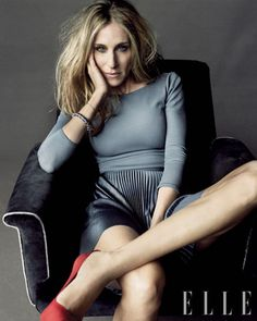 SJP outstanding. and tranquil color! with R shoesies!!