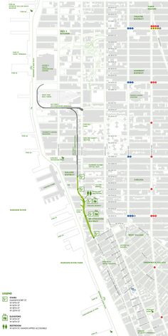 Map of High Line - www.thehighline.org