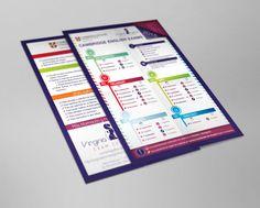 #Flyer tarifas 2015 de Virginia Lyons Exam Centre #diseño #design