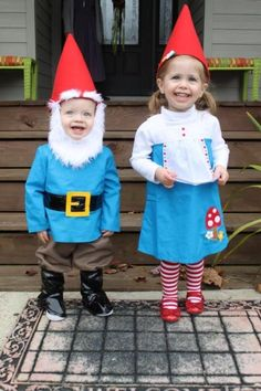 Gnome costume toddler More You are in the right place about kids costumes easy Here we offer you the Garden Gnome Halloween Costume, Baby Gnome Costume, Childrens Halloween Costumes, Twin Halloween, Homemade Halloween Costumes, Halloween Costume Contest, Christmas Costumes, Dwarf Costume, Twin Costumes
