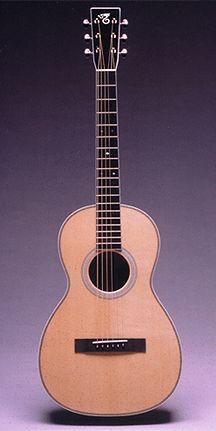 PJ Model Parlor guitar by Santa Cruz Guitars.