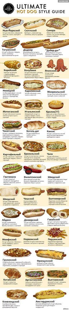 """40 видов хот-догов перевел пост <a href=""""http://pikabu.ru/story/40_raznovidnostey_khotdogov_3353580"""">http://pikabu.ru/story/_3353580</a> О возможных ошибках перевода пишите в комменты) еда, хот-доги, 9gag, перевод, длиннопост"""
