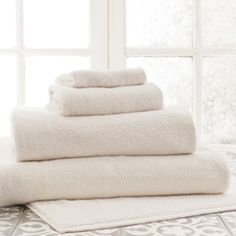Pine Cone Hill Signature Ivory Bath Towel PCHSIVHT