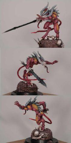 Chaos Daemons Bloodletter of Khorne