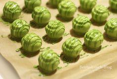 matcha pralinen #sweets
