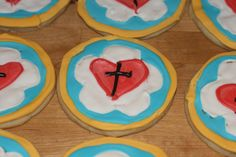 This is what Reformation is all about, folks:  Luther's Seal cookies