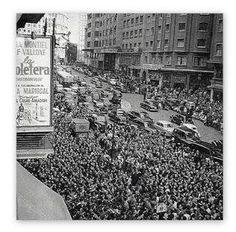 ESTRENO DE «LA VIOLETERA» EN EL CINE RIALTO - 1958